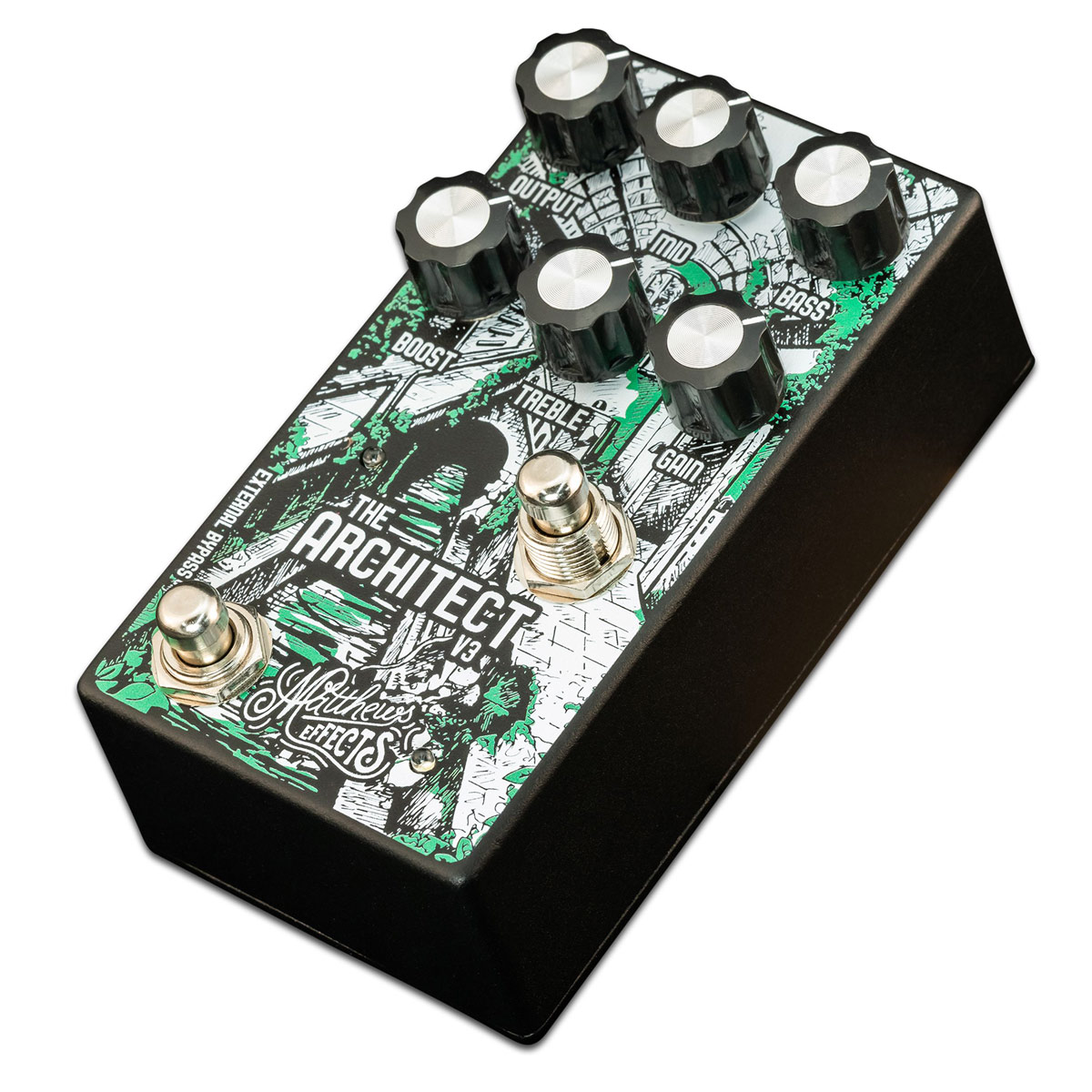Brand New Matthews Effects Pedal The Architect V2 Foundational Overdrive